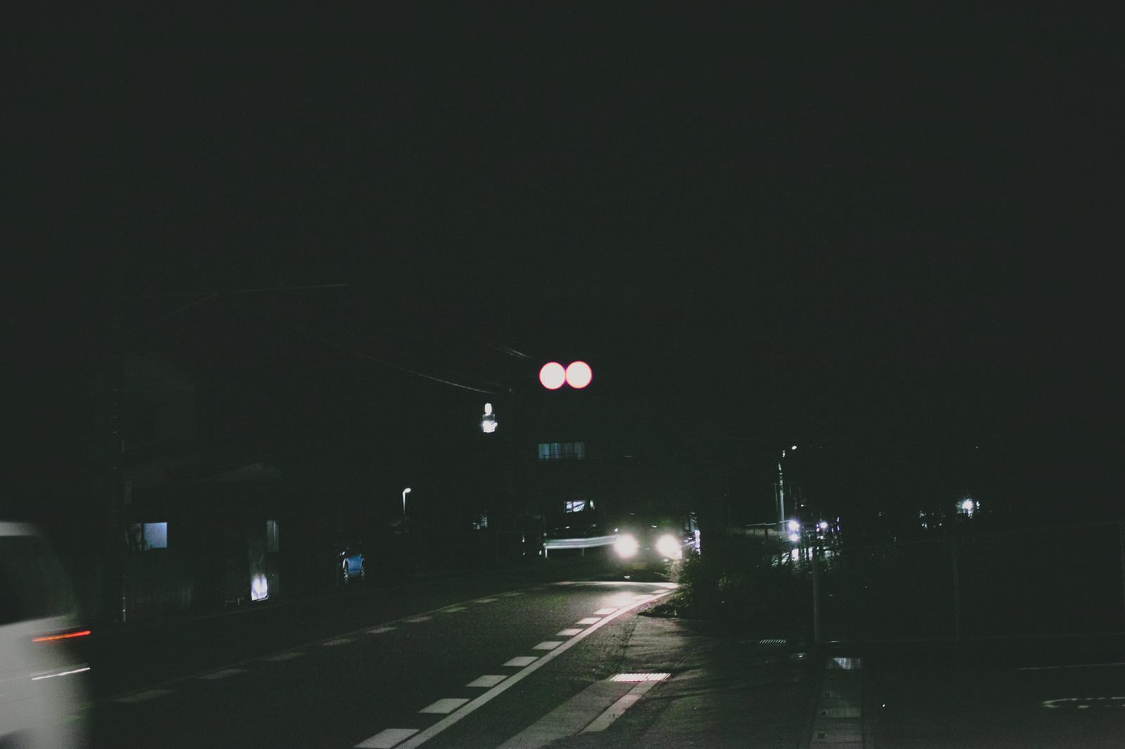 夜中のウォーキング